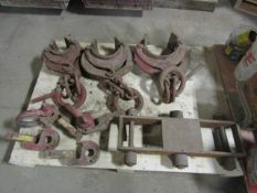 Pipe Lifting Clamps, Symons Form Hooks & Machine Dolly