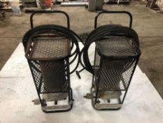 (2) IH Construction Heaters (NO TANKS)