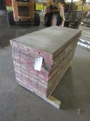"""(12) 24"""" x 4' Symons Steel Ply Forms"""