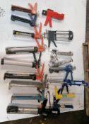Miscellaneous Caulk & Epoxy Dispenser Guns