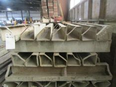 """(27) 6"""" x 6"""" x 4' ISC Symons Steel Ply Forms"""