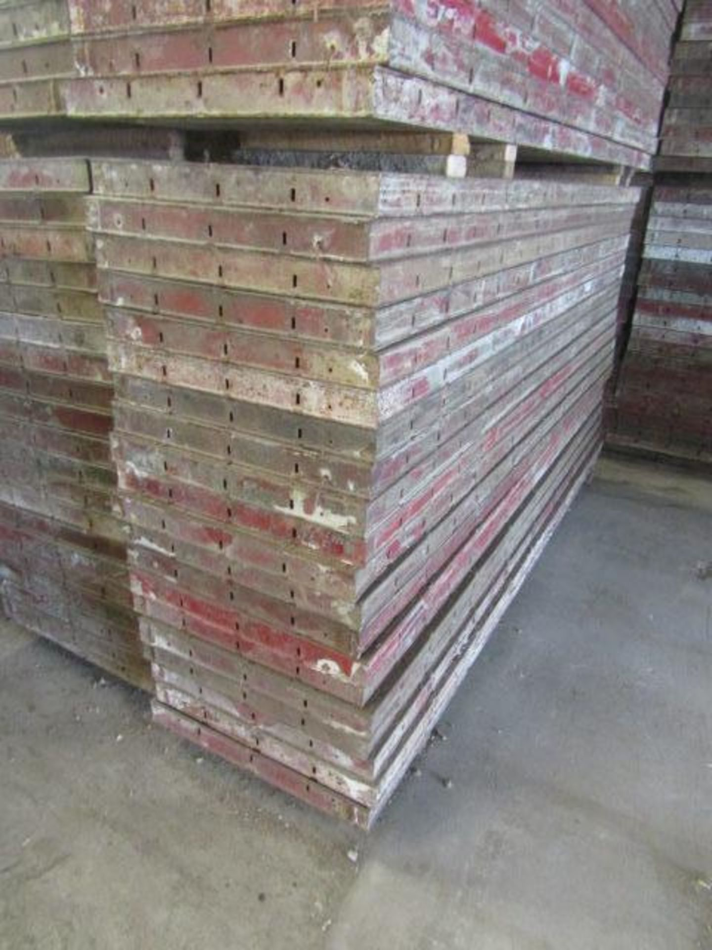 """Lot 158 - (20) 24"""" x 8' Symons Steel Ply Forms"""