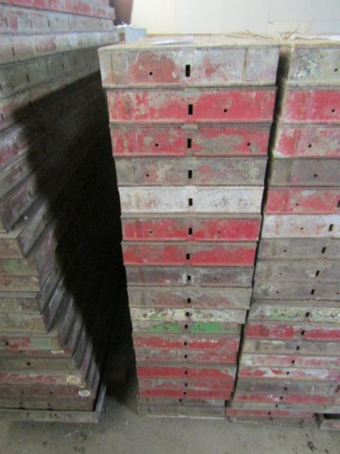 """Lot 227 - (19) 12"""" x 4' Symons Steel Ply Forms"""