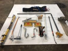 Tape Tech System Taping Tools, Zip Wall System Dust Enclosure & Grout Pump