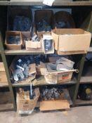 Shelving Unit of Miscellaneous Clips & Simpson Hangers