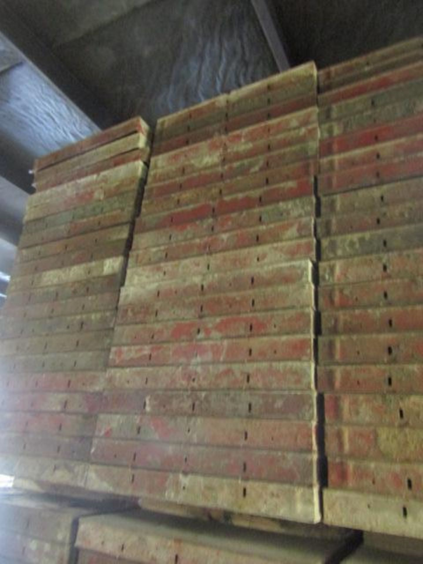 """Lot 213 - (20) 24"""" x 4' Symons Steel Ply Forms"""