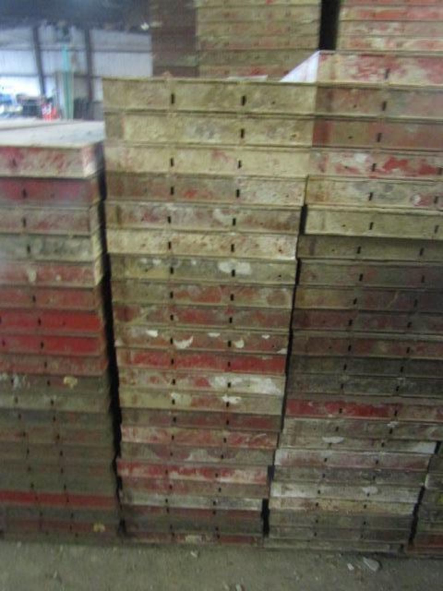 "Lot 221 - (22) 18"" x 4' Symons Steel Ply Forms"
