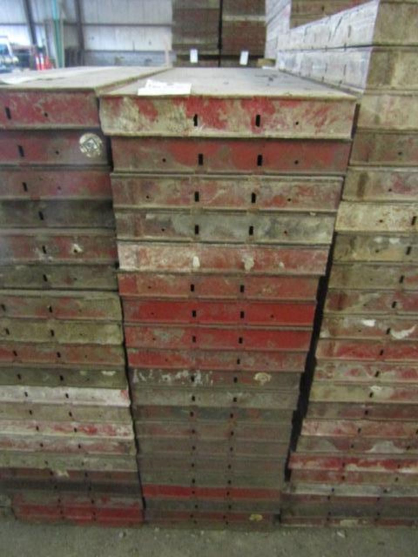 """Lot 222 - (20) 16"""" x 4' Symons Steel Ply Forms"""