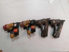 (4) Air Nail Guns
