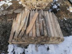 """Pallet of Wood Stakes - (160) 36"""" Wood Stakes"""