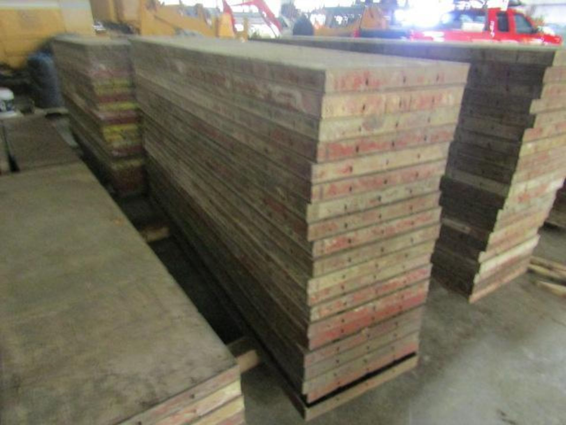 """Lot 154 - (20) 24"""" x 8' Symons Steel Ply Forms"""