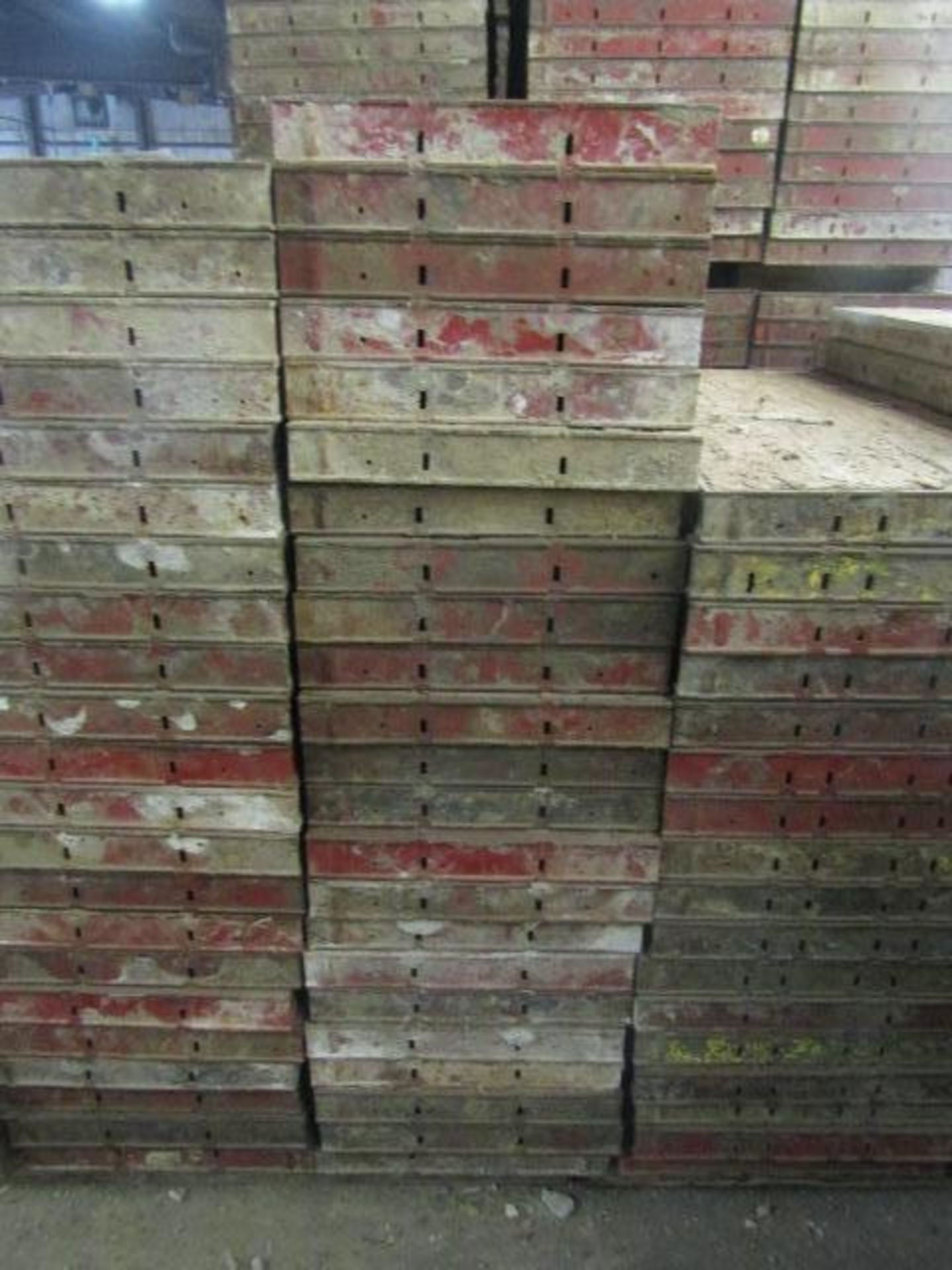 """Lot 220 - (23) 18"""" x 4' Symons Steel Ply Forms"""