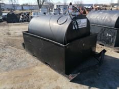 B&B Tank with Fuel Transfer Pump, Serial #BW413850. Located in Naperville, IL.
