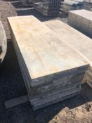 """(12) 28"""" x 8' Western Aluminum Concrete Forms, Smooth 6-12 Hole Pattern, Located in Naperville, IL"""