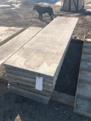 """(10) 24"""" x 8' Western Aluminum Concrete Forms, Smooth 6-12 Hole Pattern, Located in Naperville, IL"""