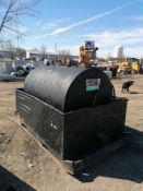 B&B Tank with Fuel Transfer Pump, Model 72SH, Serial #DRGT223408. Located in Naperville, IL