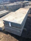 """(12) 32"""" x 8' Western Aluminum Concrete Forms, Smooth 6-12 Hole Pattern, Located in Naperville, IL"""