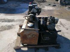 (2) Concrete Form Oilers, (1) Tecumseh Formula 5.0 HP Motor. Located in Naperville, IL.