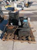 (2) Concrete Form Oilers, (1) Honda GX120 4.0 Motor & (1) GC135 4.0 Motor. Located in Naperville,
