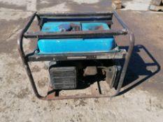 Tsurumi Generator, Model TPG2700H-DX, Serial #1000462, Honda GX160 5.5 Motor. Located in Naperville,
