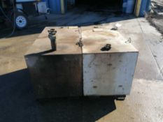 (2) Delta Consolidates 100 GAL Fuel Tanks, Model 484000, Serial #135668 & #096396. Located in