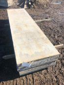 """(6) 26"""" x 8' Western Aluminum Concrete Forms, Smooth 6-12 Hole Pattern, Located in Naperville, IL"""