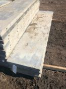 """(5) 22"""" x 8' Western Aluminum Concrete Forms, Smooth 6-12 Hole Pattern, Located in Naperville, IL"""