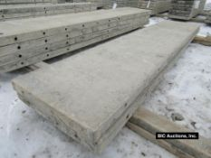 """(2) 20"""" x 8' Durand Aluminum Concrete Forms, Smooth 8"""" Hole Pattern, Located in Waldo, WI"""