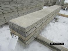 """(5) 12"""" x 8' Durand Aluminum Concrete Forms, Smooth 8"""" Hole Pattern, Located in Waldo, WI"""