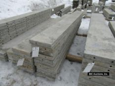 """(10) 12"""" x 9' Durand Aluminum Concrete Forms, Smooth 8"""" Hole Pattern, Located in Waldo, WI"""