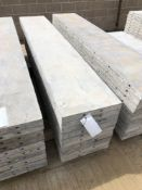 """(10) 17"""" x 8' Wall-Ties Aluminum Concrete Forms, Smooth 6-12 Hole Pattern. Located at 6180 W 10th"""