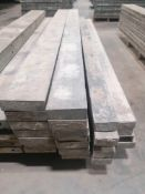 """(6) 6"""" x 8' & (1) 6"""" x 8' Jumps Western Aluminum Concrete Forms, Smooth 6-12 Hole Pattern. Located"""