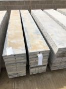 """(10) 12"""" x 8' Wall-Ties Aluminum Concrete Forms, Smooth 6-12 Hole Pattern. Located at 6180 W 10th"""