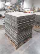 """(20) 36"""" x 4' Aluforms Aluminum Concrete Forms, Smooth 8"""" Hole Pattern. Located at 119 Spruce"""