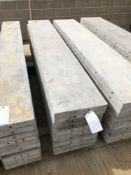 """(10) 16"""" x 8' Wall-Ties Aluminum Concrete Forms, Smooth 6-12 Hole Pattern. Located at 6180 W 10th"""