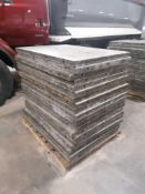 """(20) 36"""" x 4' Western Aluminum Concrete Forms, Smooth 6-12 Hole Pattern. Located at 119 Spruce"""