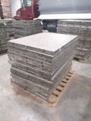 """(16) 36"""" x 4' Western Aluminum Concrete Forms, Smooth 6-12 Hole Pattern. Located at 119 Spruce"""