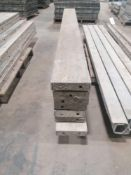 """(7) 8"""" x 8' Jumps Western Aluminum Concrete Forms, Smooth 6-12 Hole Pattern. Located at 119 Spruce"""