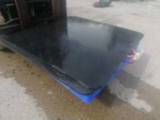 (2) 4' x 4' Outrigger Pads. Located at 301 E Henry Street, Mt. Pleasant, IA 52641.