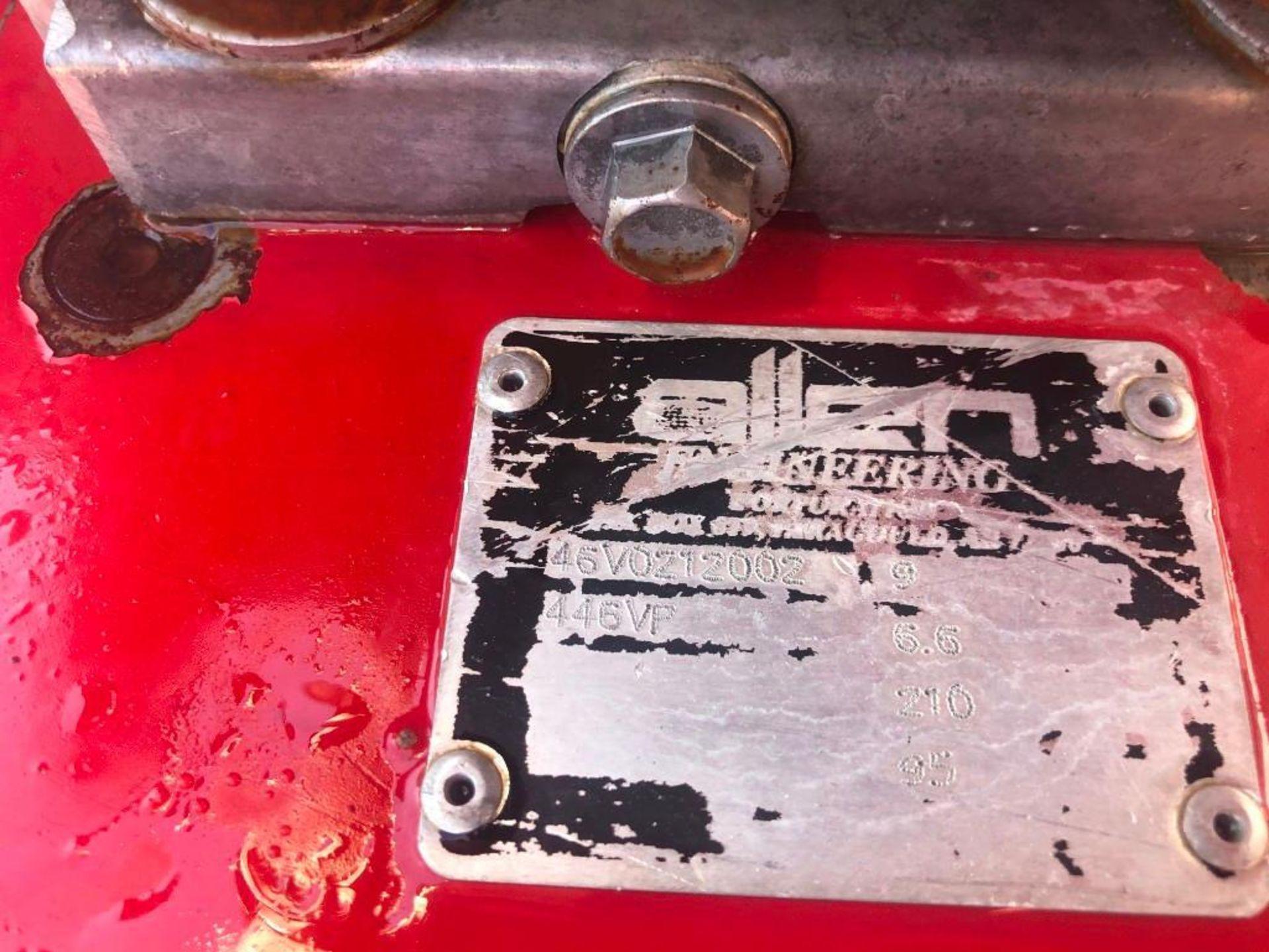 "Lot 107 - 46"" Allen Engineering Power Trowel, Serial #46V0212002, Model 446VP. Located at 301 E Henry"