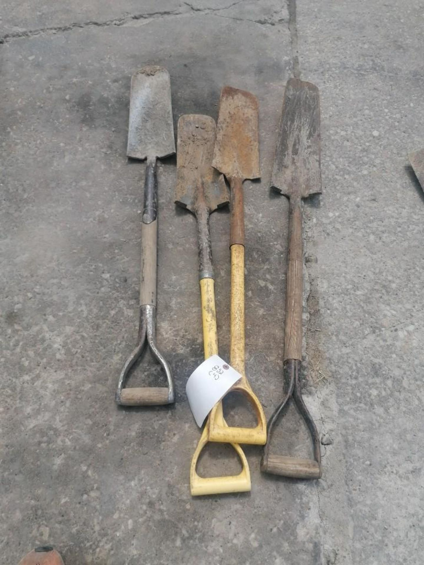 Lot 52 - (4) Shovels. Located at 301 E Henry Street, Mt. Pleasant, IA 52641.