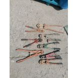 (8) Bolt Cutters. Located at 301 E Henry Street, Mt. Pleasant, IA 52641.