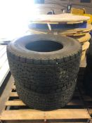 (2) Michelin 455/55R 22.5 Drive Tires. Located at 301 E Henry Street, Mt. Pleasant, IA 52641.