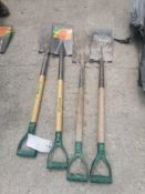 (4) Shovels. Located at 301 E Henry Street, Mt. Pleasant, IA 52641.