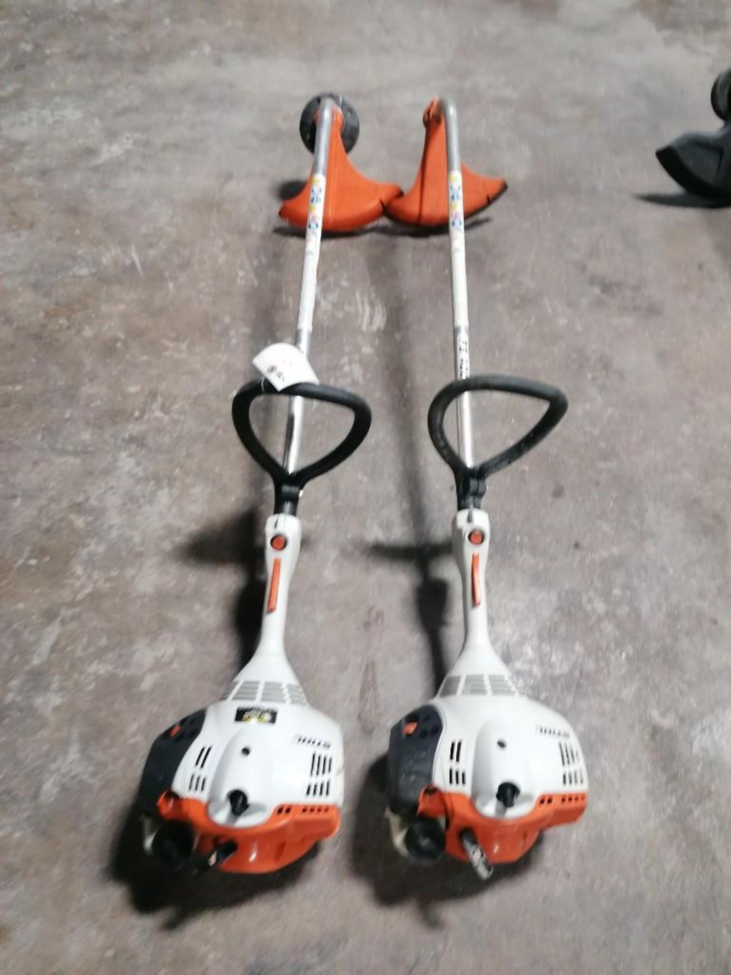 Lot 34 - (2) Stihl FS40C String Trimmer. Located at 301 E Henry Street, Mt. Pleasant, IA 52641.