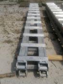 "(2) 9' 5"" x 14"" Aluminum Trailer Ramps. Located at 301 E Henry Street, Mt. Pleasant, IA 52641."