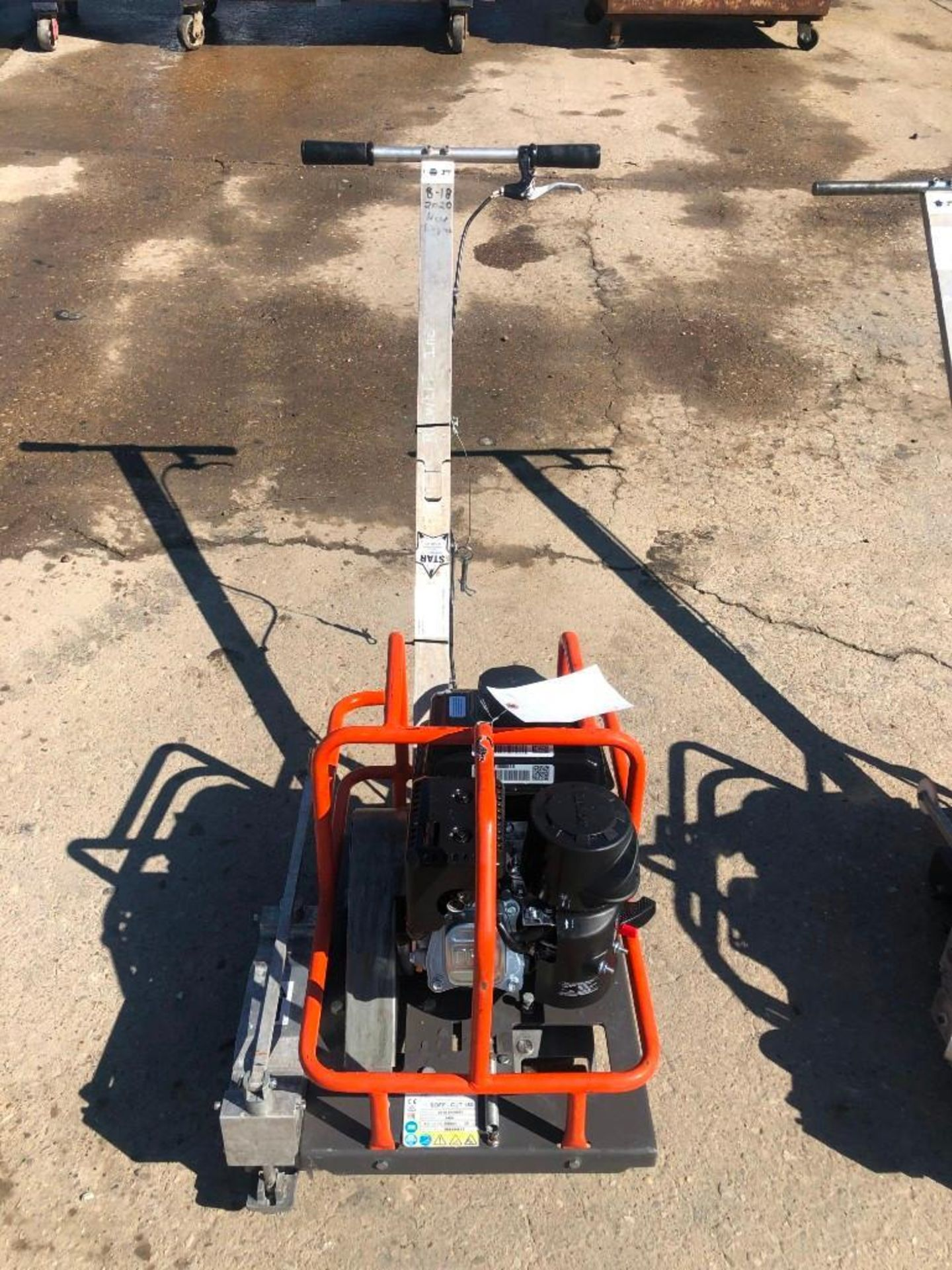 Lot 111 - Husqvarna Soff-Cut 150 Concrete Saw. Serial #20180400053. Located at 301 E Henry Street, Mt.
