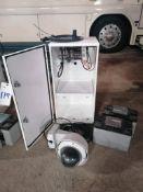 (1) EarthCam P.O.E Camera System Solar Power with 16' Aluminum Mauning Pole.Model Construction