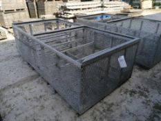 2' & 4' Fillers Basket. Located at 301 E Henry Street, Mt. Pleasant, IA 52641.