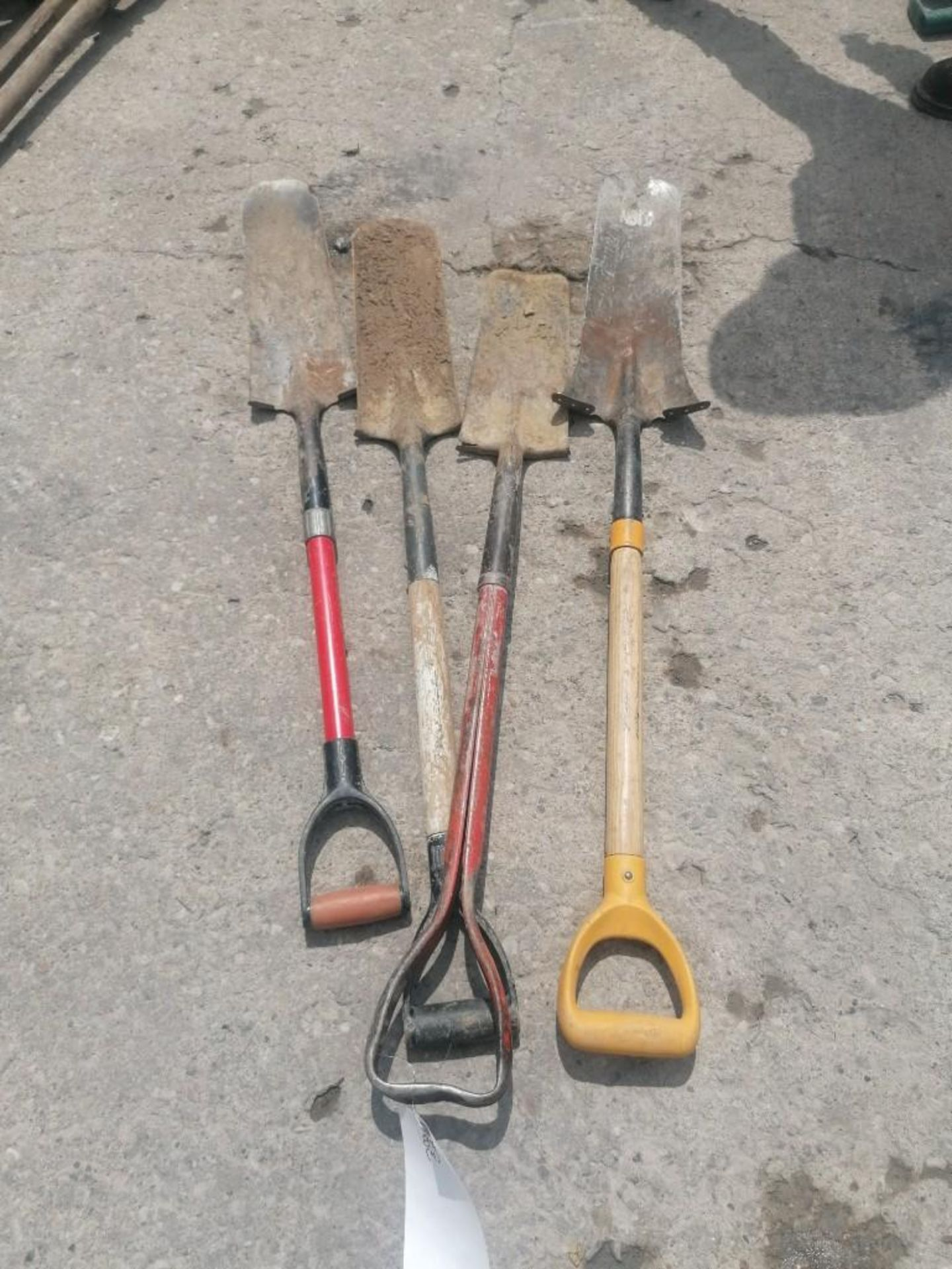 Lot 60 - (4) Shovels. Located at 301 E Henry Street, Mt. Pleasant, IA 52641.